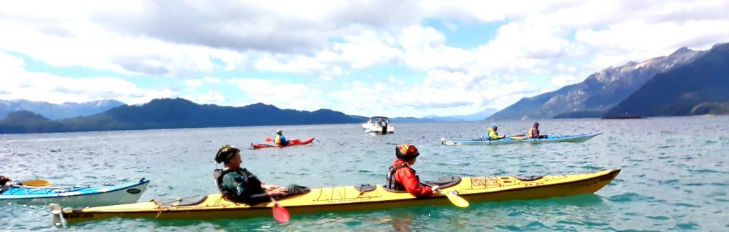 Encuentro nacional de kayaquistas